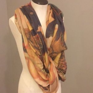 Anthropologie Artsy Circus Scarf